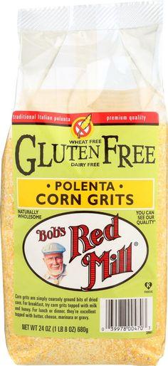 Bob's Red Mill Gluten Free Corn Grits - Polenta - 24 Oz - Case Of 4