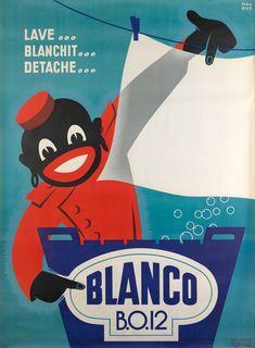 Blanco - lave... blanchit... détache... - (Maurus) -