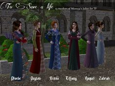 Image Types Of Lace, Tartan Kilt, Model One, Renaissance Fashion, My Sims, Everyday Dresses, The Body Shop, Middle Ages, Simple Style
