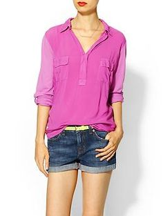 Splendid Always Shirting Pocket Tunic | Piperlime