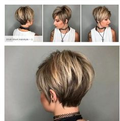 *** Super Cute Short Hairstyles With Sup - Hair Beauty - maallure Short Hair With Layers, Short Hair Cuts, Short Hair Styles, Hair Color And Cut, Haircut And Color, Cute Hairstyles For Short Hair, Pretty Hairstyles, Sassy Hair, Hair 2018