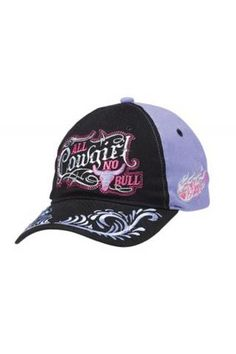 9c064a88f48a2 Women s Hats and Caps Blazin Roxx Black All Cowgirl No Bull Cap