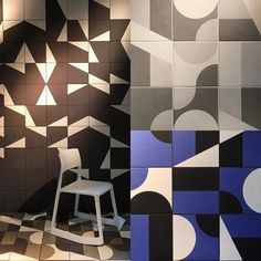 Puzzle by #barberosgerby for #mutina #milanogram2016 #salonedelmobile by kjappy