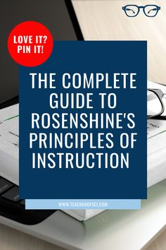 Rosenshine's Principles of Instruction is the best educational theory I've come across! It has transformed the way I teach, and it can help YOU too! This guide has everything you need to know, by the end all you'll want to be doing is teaching! Secondary Teacher, Primary Teaching, Teaching Time, Primary School, Elementary Schools, Teaching Resources, Teaching Ideas, Educational Theories, Instructional Design