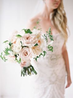 Proof Rain on Your Wedding Day Leads to Pretty Things - http://www.stylemepretty.com/canada-weddings/2016/05/20/summer-vineyard-wedding/