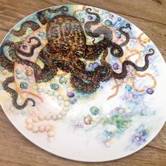 Octopus and Jewels by Mark Jones