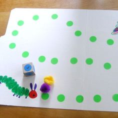 The Very Hungry Caterpillar- File Folder Game Preschool At Home, Classroom Activities, Preschool Activities, Preschool Classroom, Activities For Kids, Kindergarten, Learning Games, Math Games, Kids Learning