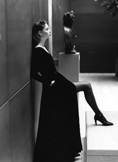 Christy Turlington by Patrick Demarchelier.