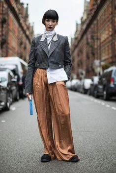25 Best Lfw Spring 2017 Street Style Trends Suits Images On