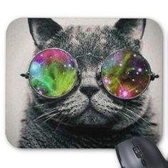 Kool Kitty Mousepad  Designed by TnS_Designs  $11.95