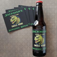 Full color custom beer labels easy to use and perfect for all home ...