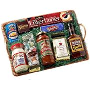Gourmet Gift Basket   Product Contents  Frisch's Tartar Sauce Graeter's Chocolate Bar- Large Skyline Chili Entertainer Crackers LaRosa's Spaghetti Sauce Queen City Gourmet Coffee Montgomery Inn BBQ Sauce Graeter's Assorted Chocolates Graeter's Saltwater Taffey