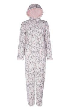 Primark - Pijama-macacão coelho cor de rosa