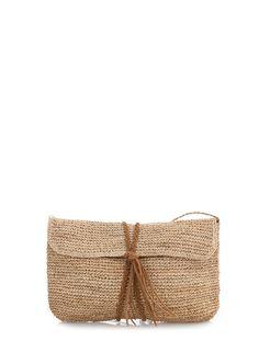 Summer Wedding: Raffia Crochet Clutch