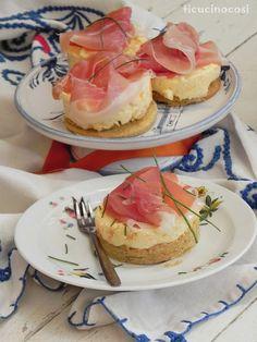 Cheese cake melone e prosciutto