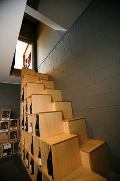 Alternate Tread Shelf Steps 15 Apartment Space Saving Ideas U2013 Page 5 U2013  Apartment Geeks