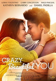 Crazy beautiful you pinoy movie for free. Then that would be fine when we forgive we set ourselves free. Beautiful you starring daniel padilla and kathryn bernardo. Daniel Padilla, Kathryn Bernardo, Contact Film, Pinoy Movies, Film Streaming Vf, Drame, Film Serie, Latest Movies, Philippines