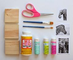 Cómo hacer unos cuadros decorativos para niños ~ Mimundomanual