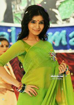 Samantha beautiful and gorgeous looking photo shoot in green saree Samantha Photos, Samantha Ruth, Green Saree, Cinema Actress, Telugu Cinema, Hottest Photos, Photo Galleries, Sari, Photoshoot