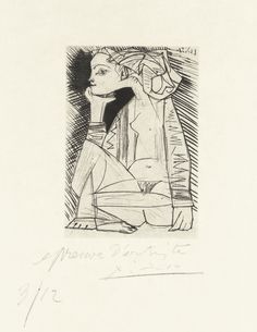 Pablo Picasso - Sitting Woman, 1951