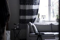 Marimekko, Room Interior, Dining Room, Curtains, Design, Home Decor, Dinner Room, Insulated Curtains, Homemade Home Decor
