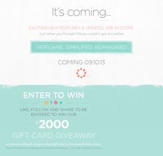 I just entered this Jane giveaway!