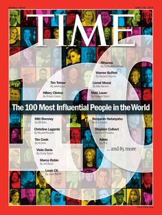 Time magazine has revealed the Time 100 for the magazine's ninth annual list of the 100 most influential people in the world, which includes many of Hollywood's most powerful women. Tim Cook, Christian Marclay, Louis Ck, Magazine Cover Design, Magazine Covers, Chelsea Handler, Tim Tebow, Sarah Burton, Time 100