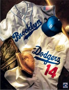From Brooklyn,NY to Los Angeles,CA Dodgers vintage collage Dodgers Baseball, Dodgers Gear, Let's Go Dodgers, Dodgers Nation, Baseball Players, Dodgers Today, Baseball Wall, Baseball Teams, Baseball League