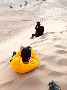 180125 #EXO #Jongdae (#Chen) & #Junmyeon (#Suho) in Dubai <3