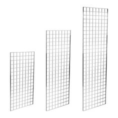 Features and benefits of a Gridwall Mesh PanelA Gridwall display is a versatile addition to any retail wall. The simple design allows you to display products in a variety of ways, with shelving, baskets and hooks available separately to buil Corner Display Unit, Big Boy Bedrooms, Slat Wall, Retail Interior, Steel Mesh, Mesh Panel, Spare Room, Mounting Brackets, Polished Chrome