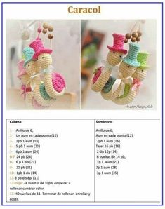 36 Llaveros adorables + 17 patrones en castellano | Otakulandia.es Decoupage, Crochet Necklace, Crochet Hats, Pattern, Handmade, Cancer, Diy, Jewelry, Fashion