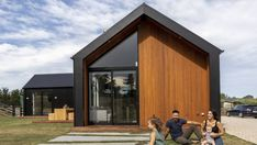 This small Canterbury build bucks the build-big trend High Windows, Farms Living, Canterbury, New Builds, Concrete Floors, Open Plan, Cladding, Fixer Upper, Building A House