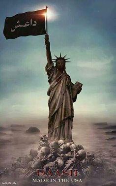حقيقة داعش المجرم....صناعة امريكيه ..إسرائيليه بحته.....