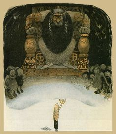 John Bauer. 6Dag and Daga, and the Flying Troll of Sky Mountain by Harald Ostenson (Картинки)