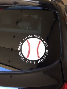 Baseball Wall Decal Vinyl Decal Car Decal CDS Vinyls - Custom car decals baseball