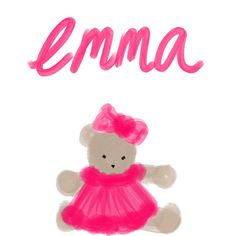 Emma by CustomArtByBC on Etsy
