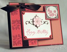 Postale Birthday by Coconutmuffn - Cards and Paper Crafts at Splitcoaststampers
