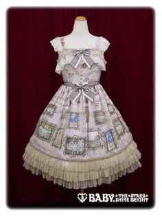 Baby, the stars shine bright Sister Maria's Humming Birds long frill jumper skirt
