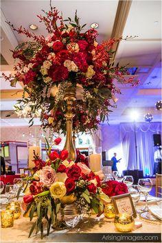 Floral Designs by Lori - Ballroom Bliss 2015 #royalparkhotel #ballroombliss #arisingimages