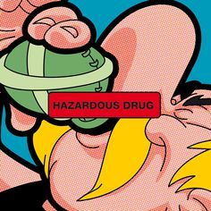 POP ICON - Hazardous Drug