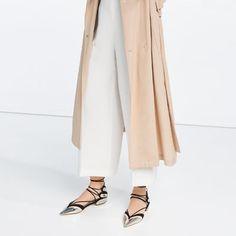 Image 1 de BALLERINES À BRIDES de Zara