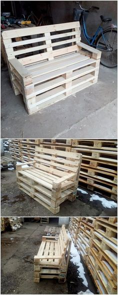If you want to make your wood pallet seat project much more functional and useful then you can make it often add with the bench or couch effect of purpose too. This amazing wood pallet seat project as finished with the wood work has been said out to be much more inspiring and favorable.
