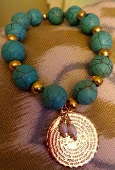 Padre Nuestro Bracelet by PrettyGioielli on Etsy, $25.00