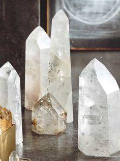$317.00 Roost Jumbo Brazilian Quartz Crystals