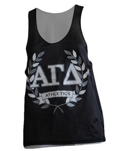 Alpha Gamma Delta Athletics Jersey by Adam Block Design | Custom Greek Apparel & Sorority Clothes | www.adamblockdesign.com