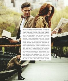 Breaks my heart. COME BACK. Amelia Pond, the best of the best.. and certainly the Doctor's best friend.