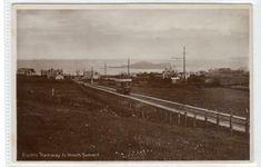 ELECTRIC TRAMWAY TO HOWTH SUMMIT, DUBLIN: Ireland postcard (C46572) | eBay Round Tower, Dublin Ireland, Old Postcards, Railroad Tracks, United Kingdom, Electric, Castle, Ebay, England Uk