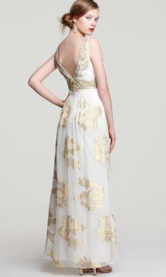 41ebc8fd29e Платье с золотыми розами - прокат и аренда в Киеве от Rent A Brand