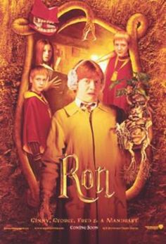 Ron: Chamber of secrets poster.