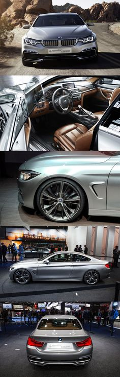 M4 - I like the rich brown leather interior paired with the gray.